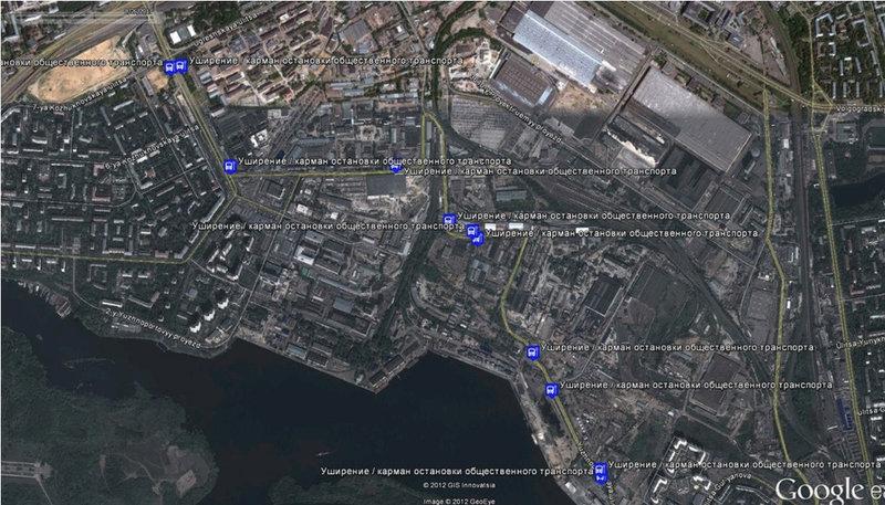 Парковочные зоны - Южнопортовая